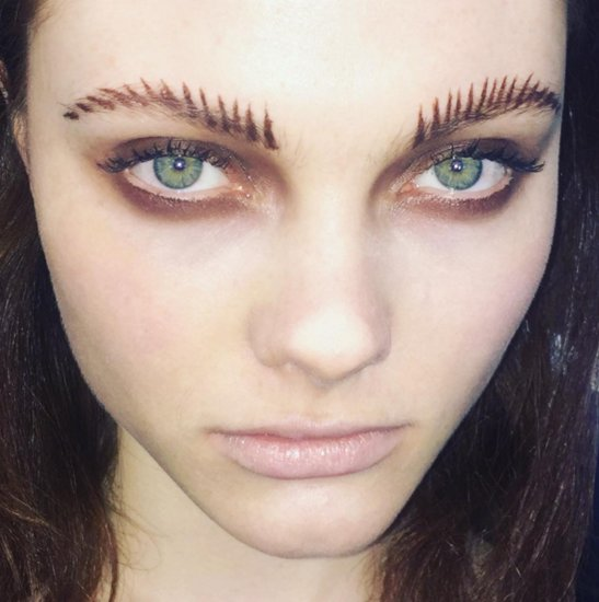 Feral Frond Brow Trend