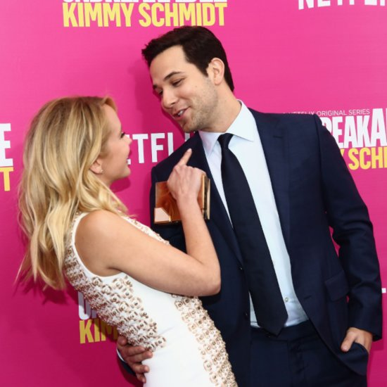 Anna Camp and Skylar Astin at Kimmy Schmidt Premiere 2016
