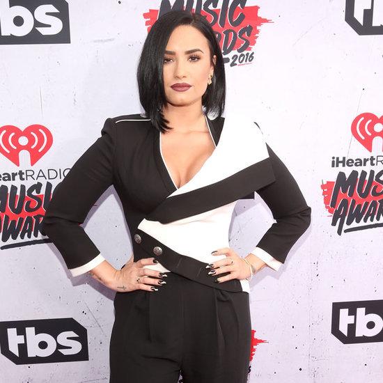Demi Lovato at the iHeartRadio Music Awards 2016
