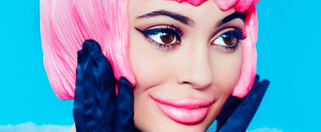 Kylie's Newest Beauty Look Is Kind of Creeping Us Out