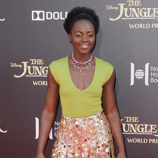 Lupita Nyong'o Wearing J.Crew at The Jungle Book Premiere