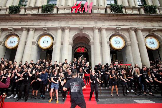 H&M Bondi and Broadway Stores