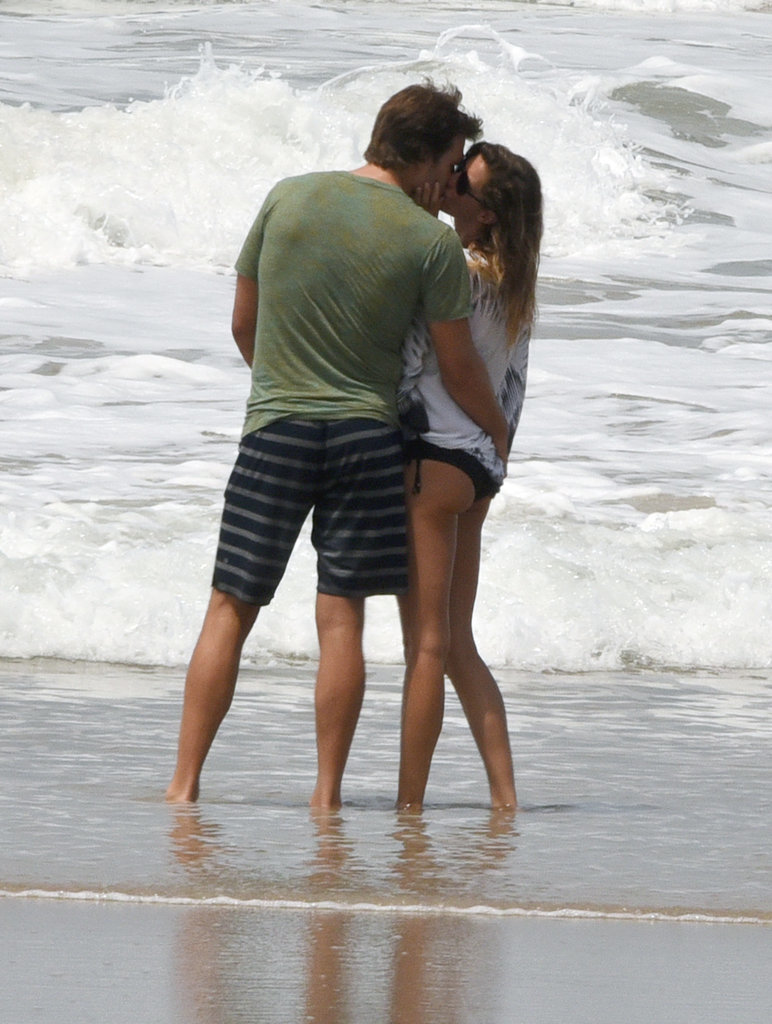 Tom Brady and Gisele Bündchen were at it again during a day on the beach in Costa Rica in March 2016.