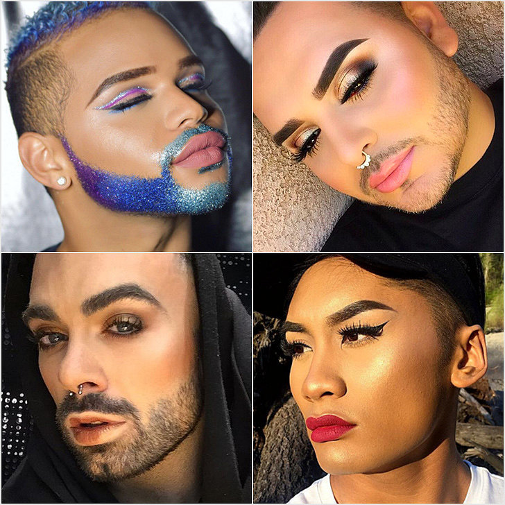 Boys in Makeup Hashtag on Instagram : POPSUGAR Beauty Australia