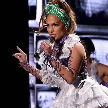 Jennifer Lopez at American Idol Finale 2016