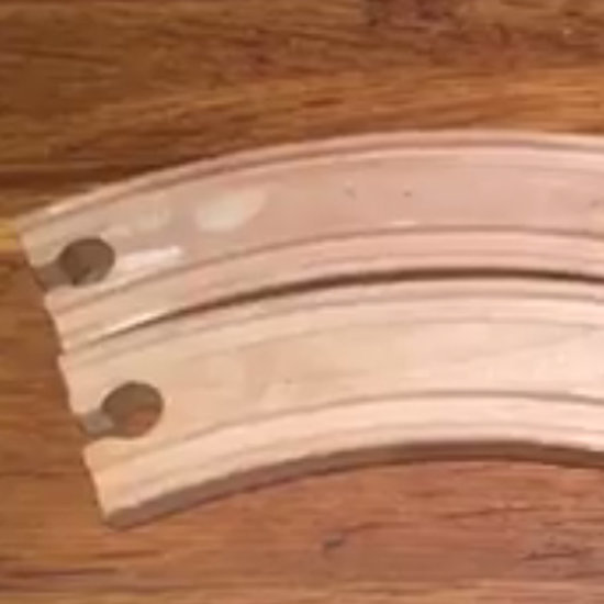 Why the Video of Toy Train Track Is an Optical Illusion