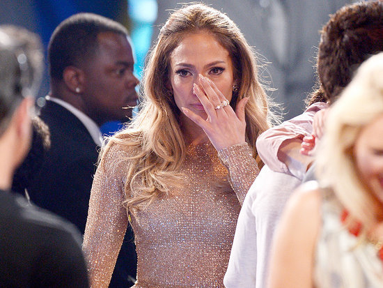 Jennifer Lopez Gets Emotional at American Idol Finale