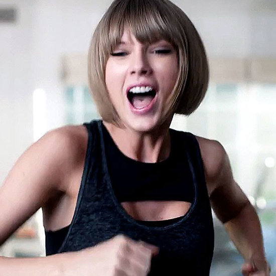 Taylor Swift's Sports Bra in Apple Commerical