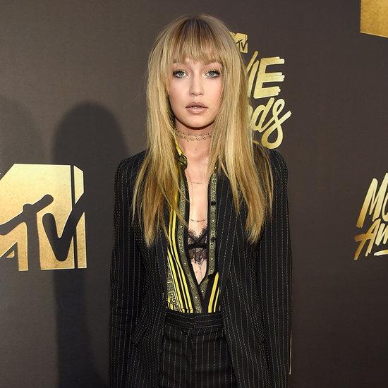 Gigi Hadid at the MTV Movie Awards 2016