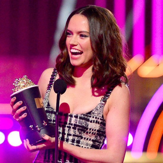 Daisy Ridley at the MTV Movie Awards 2016