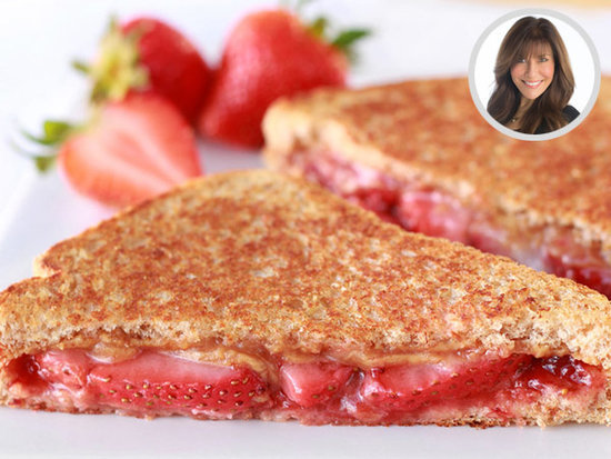 Hungry Girl: How to Lighten Up a Peanut Butter & Jelly Sandwich