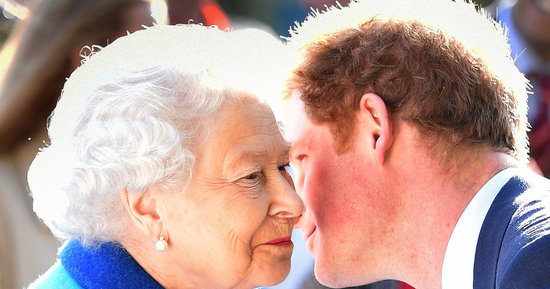 Prince Harry Says He Has Major Respect For His Boss, The Queen