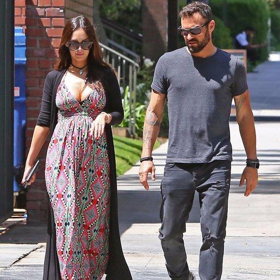 Megan Fox and Brian Austin Green in LA After Pregnancy News