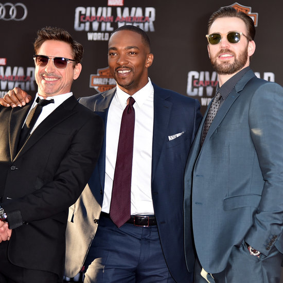 Chris Evans at Captain America: Civil War LA Premiere 2016