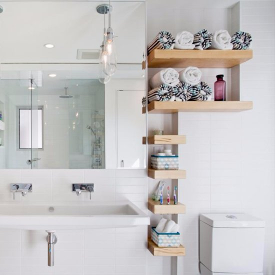 15 Smart Bathroom Storage Ideas