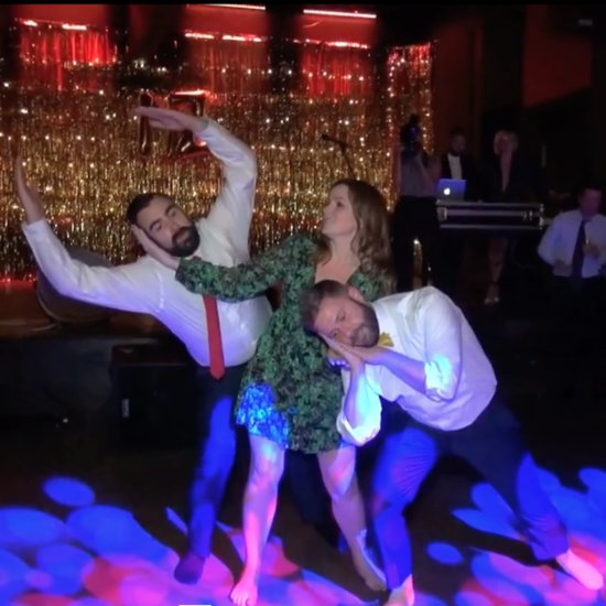 Romy and Michele's High School Reunion Dance at Wedding