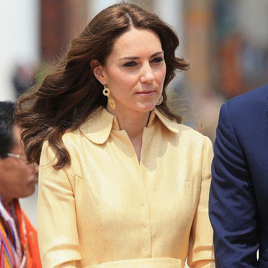 Kate Middleton Emilia Wickstead Coat in Bhutan 2016