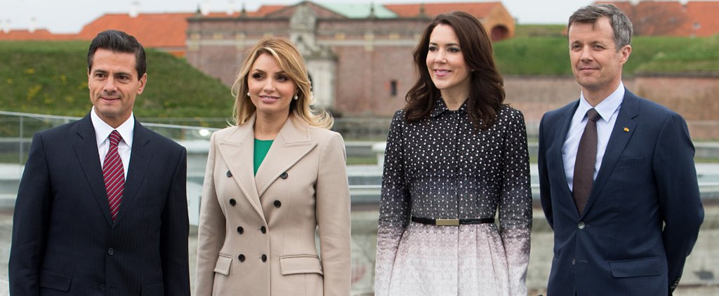 The 2 Coats Every Power Woman Needs, Courtesy of Princess Mary and Mexico's First Lady