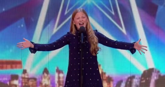 12-Year-Old's Performance Of 'Defying Gravity' Will Give You Chills
