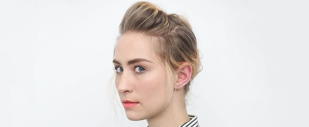 This Is the Easiest Way to Put Your Hair in a Modern French Twist