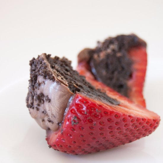 Oreo-Stuffed Strawberries Recipe