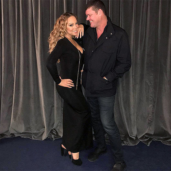 Mariah Carey Gets Surprise Visit From Fiancé James Packer While on Tour in Italy