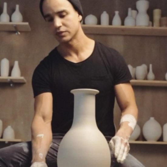 You'll Wish You Were a Piece of Clay Once You See This Sexy Pottery Maker