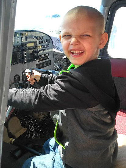 5-Year-Old with Terminal Brain Cancer Lives Out Dreams by Becoming Firefighter, Policeman and Pilot