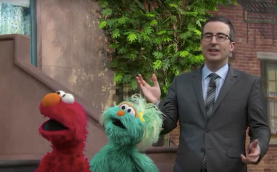 FROM EW: John Oliver Heads to Sesame Street for a Lead Poisoning Wake-Up Call
