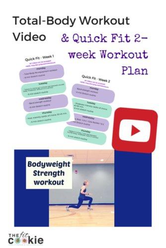Free 2-week Quick Fit Workout Plan