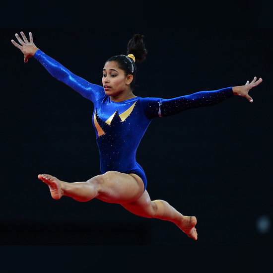 First Indian Female Olympic Gymnast (Video)