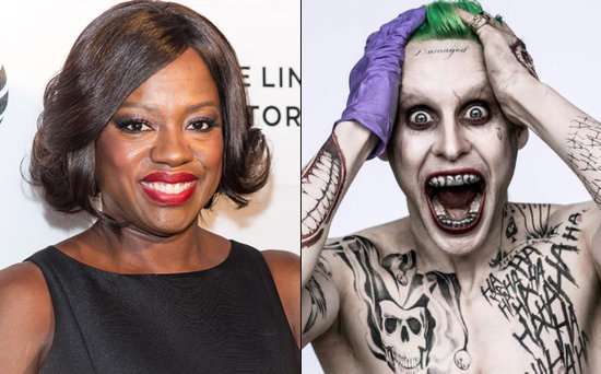 FROM EW: Jared Leto Didn't Send Viola Davis Gross Suicide Squad Gifts