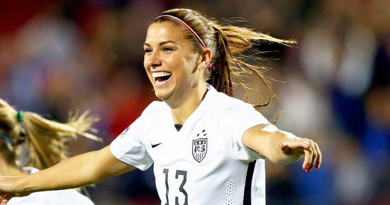 Soccer Player Alex Morgan On The Response to the Team's Equal Pay Complaint: 'Its Surprised Us'