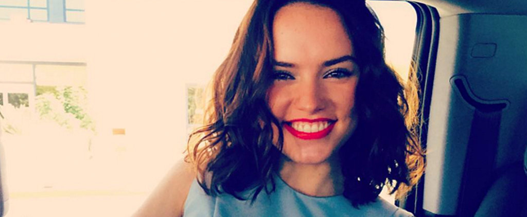 Daisy Ridley Uses a Selfie to Make a Powerful Statement About Self-Esteem
