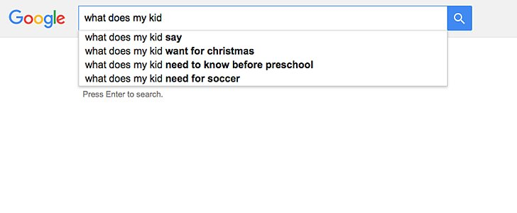 Clearly, Google knows your kids better than you do.