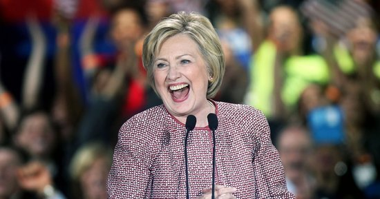 Hillary Clinton Got a Fresh New Haircut: See Her New York Primary Victory Style