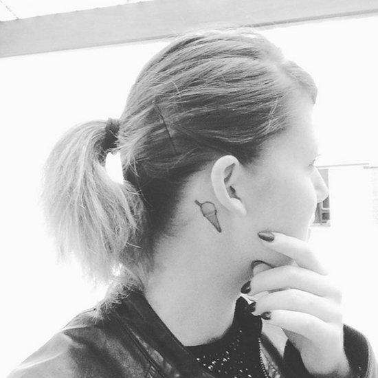 Behind-the-Ear Tattoos