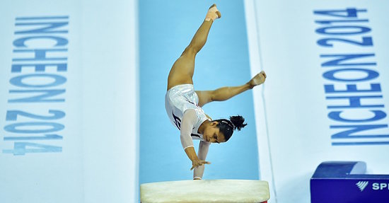 "This Badass Gymnast Is One of Only Five to Land ""The Vault of Death"""