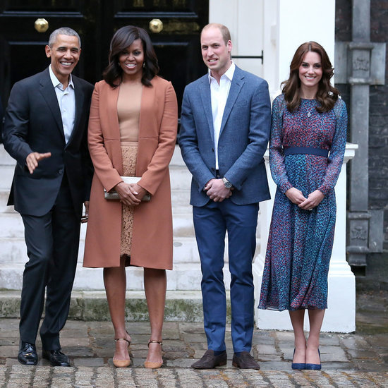 Michelle Obama and Kate Middleton at Kensington Palace
