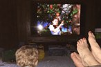 Chris Pratt and Anna Faris Win Parenting with Classic MGM Movies