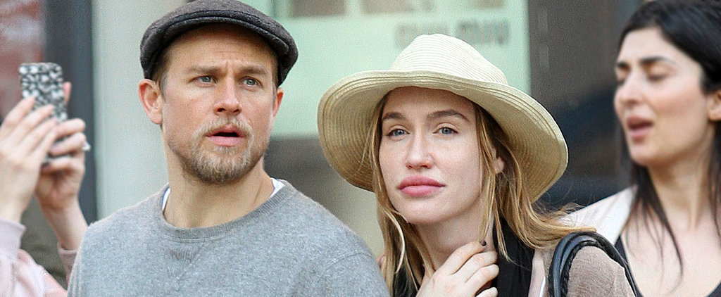 Charlie Hunnam Cozies Up to His Girlfriend During a Sunny Stroll in NYC