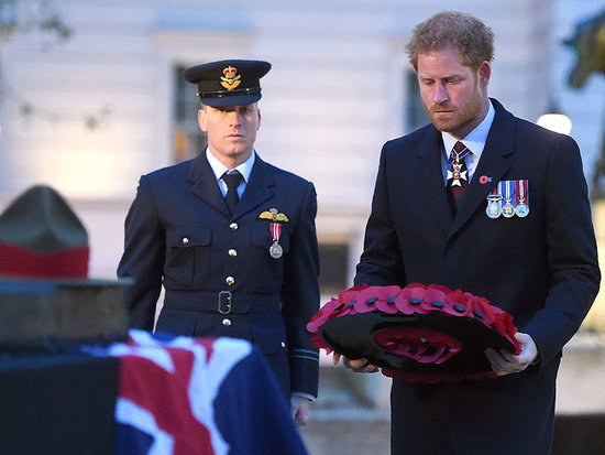Somber Prince Harry Lays Wreath in Honor of Fallen Australian and New Zealand Veterans on Anzac Day