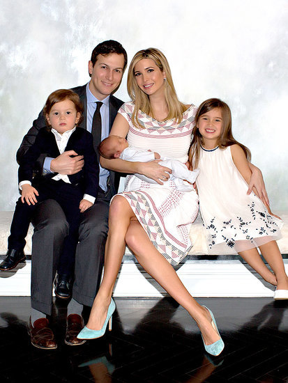 Gang's All Here! Ivanka Trump Shares First Family Photo Since Son's Birth