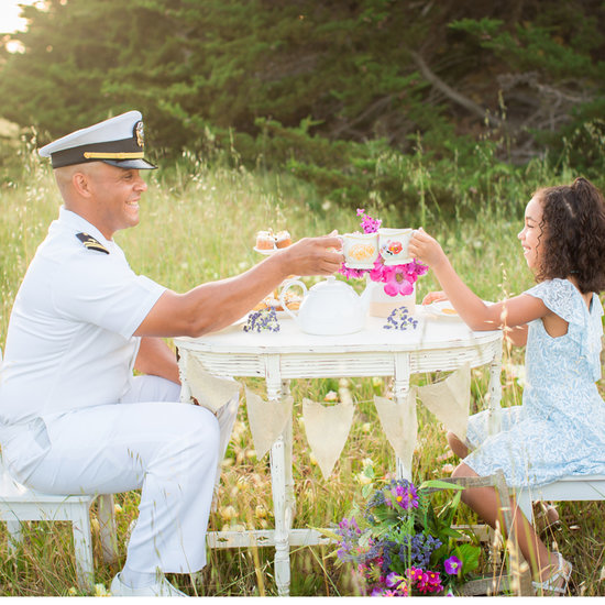 Military Dad Tea Party Photos