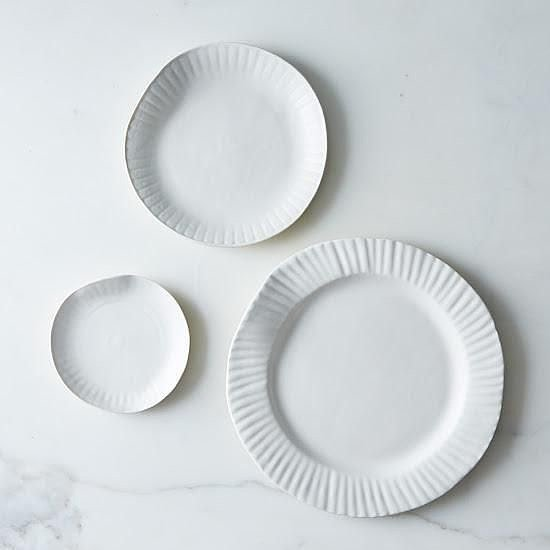 How Potlucks Inspired Our Favorite Porcelain Paper Plates