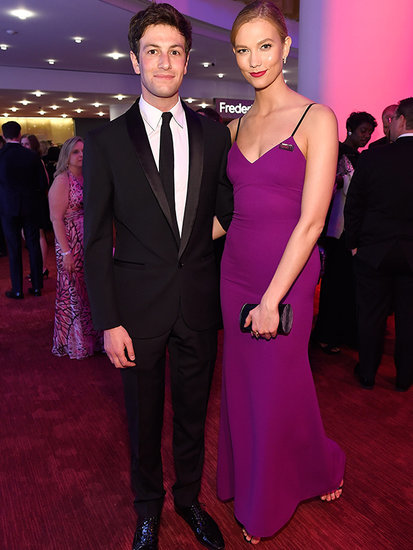 Karlie Kloss Hits TIME 100 Gala in Form-Fitting Purple Gown with Boyfriend Joshua Kushner