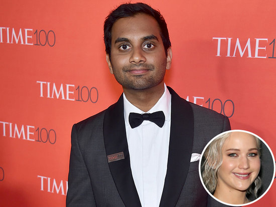Aziz Ansari Admits He Was 'Incredibly High' While Watching a Jennifer Lawrence-Narrated Documentary: 'It's Weird Hearing Your Fr