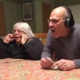 Watch This Couple Find Out They'll Be Great-Grandparents Through a Side-Splitting Whisper Game