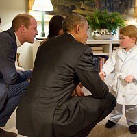 When Barack Obama met Prince George (& 14 more adorable photos)