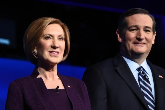 Ted Cruz Chooses Carly Fiorina as His Running Mate